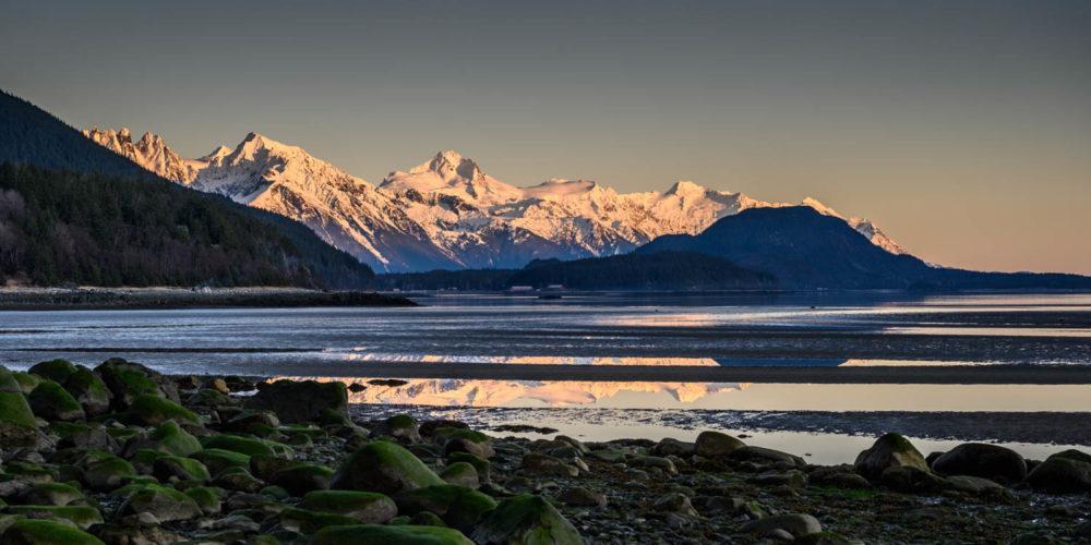 Wandbild Alaska Haines Berge