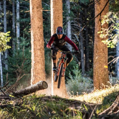 Wandbild Jump MTB Mountainbike