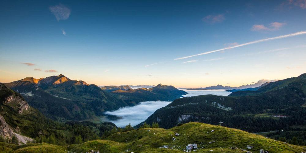 Wandbild Nebelmeer Obertauern